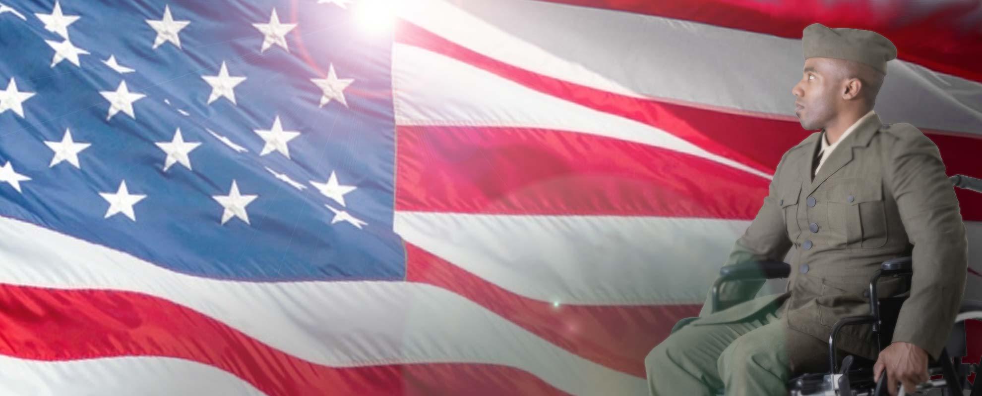 veteran flag - Military Service Medal Applications